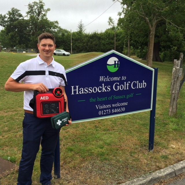 Hassocks Golf Club | Defibrillator Installed